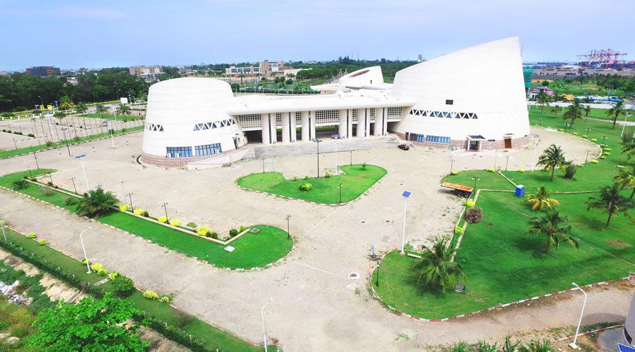 Le Palais des Congrès de Cotonou